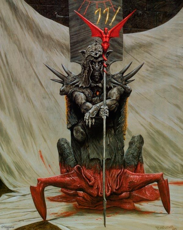 inferno surrealismo arte fantasia wayne barlowe 0 Figura do Slideshow #32