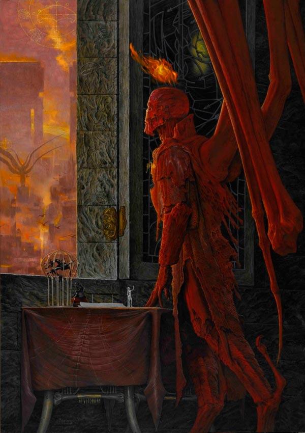 inferno surrealismo arte fantasia wayne barlowe 0 Figura do Slideshow #1
