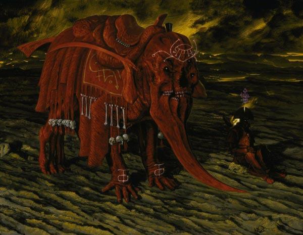 inferno surrealismo arte fantasia wayne barlowe 0 Figura do Slideshow #33