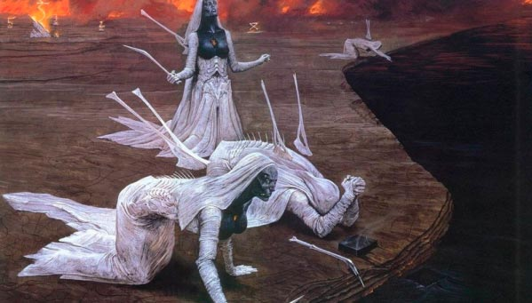 inferno surrealismo arte fantasia wayne barlowe 0 Figura do Slideshow #30