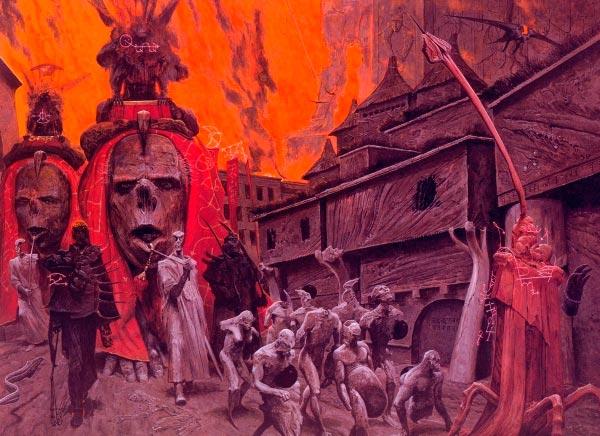inferno surrealismo arte fantasia wayne barlowe 0 Figura do Slideshow #28