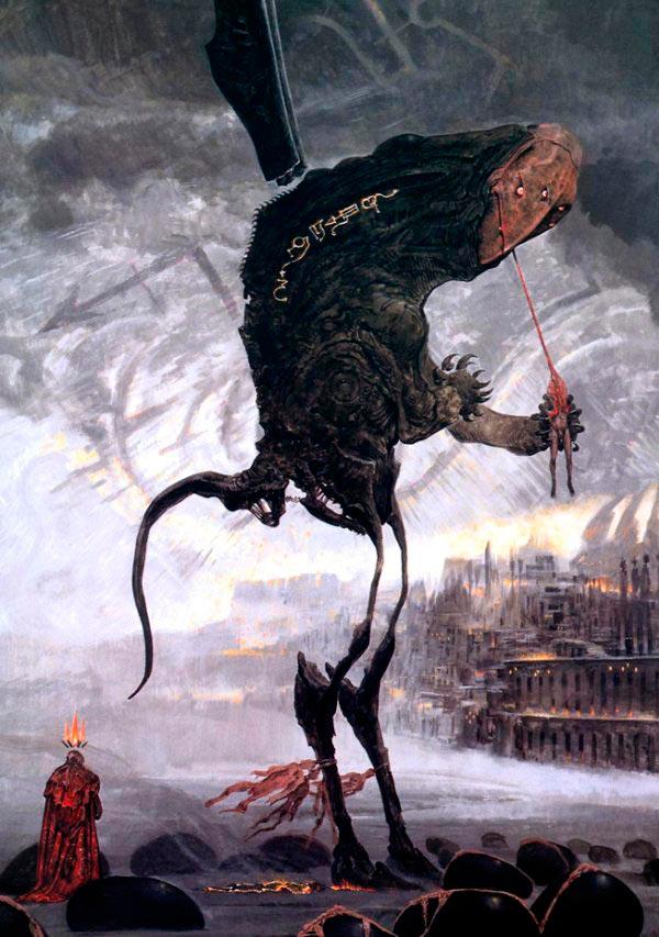 inferno surrealismo arte fantasia wayne barlowe 0 Figura do Slideshow #3
