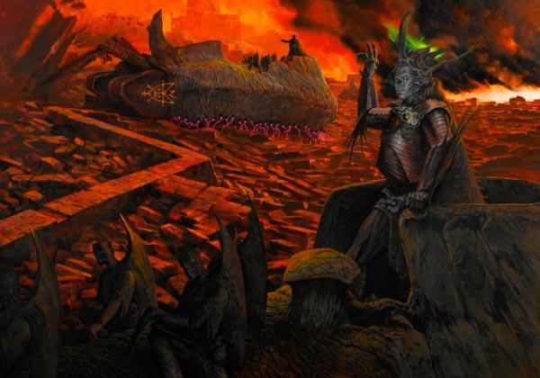 inferno surrealismo arte fantasia wayne barlowe 0 Figura do Slideshow #34