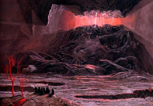 inferno surrealismo arte fantasia wayne barlowe 0 Figura do Slideshow #31