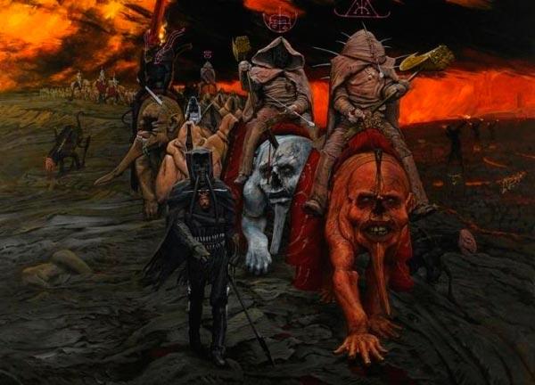 inferno surrealismo arte fantasia wayne barlowe 0 Figura do Slideshow #29