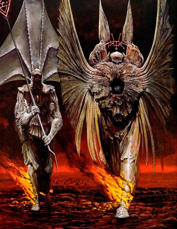 inferno surrealismo arte fantasia wayne barlowe 0 Figura do Slideshow #26