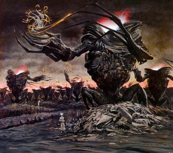 inferno surrealismo arte fantasia wayne barlowe 0 Figura do Slideshow #27
