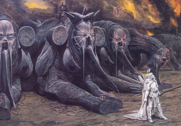 inferno surrealismo arte fantasia wayne barlowe 0 Figura do Slideshow #25