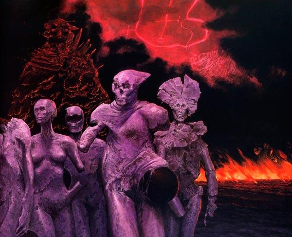 inferno surrealismo arte fantasia wayne barlowe 0 Figura do Slideshow #21