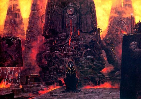 inferno surrealismo arte fantasia wayne barlowe 0 Figura do Slideshow #18