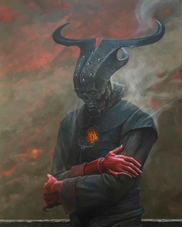 inferno 0 surrealismo arte fantasia wayne barlowe 0 Figura do Slideshow #23