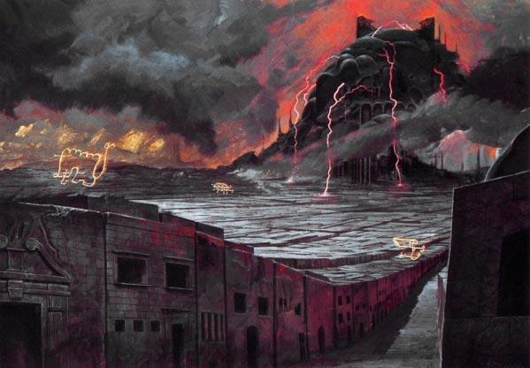 inferno 0 surrealismo arte fantasia wayne barlowe 0 Figura do Slideshow #22