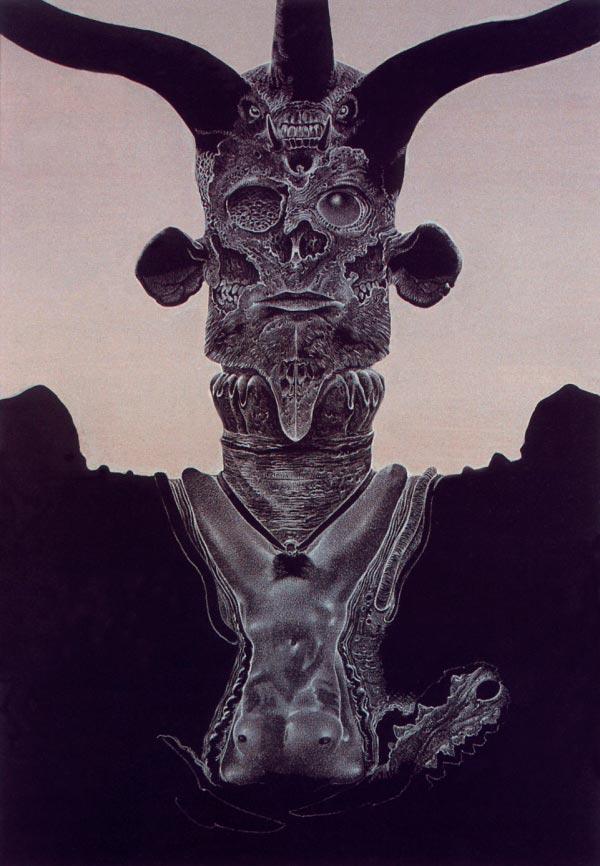 inferno 0 surrealismo arte fantasia wayne barlowe 0 Figura do Slideshow #17