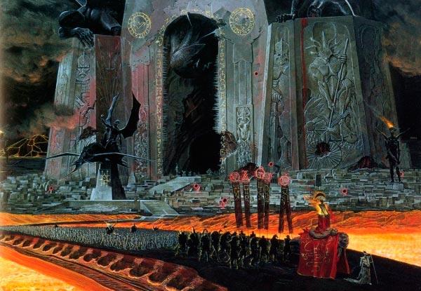 inferno 0 surrealismo arte fantasia wayne barlowe 0 Figura do Slideshow #14