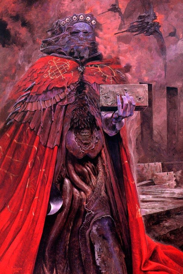 inferno 0 surrealismo arte fantasia wayne barlowe 0 Figura do Slideshow #13
