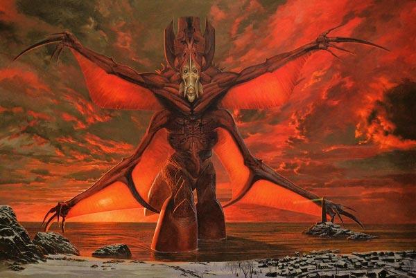 inferno 0 surrealismo arte fantasia wayne barlowe 0 Figura do Slideshow #12