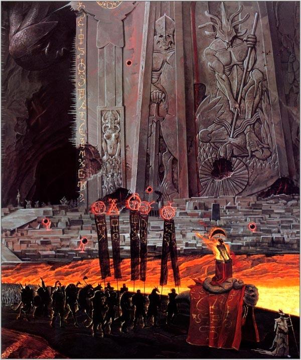 inferno 0 surrealismo arte fantasia wayne barlowe 0 Figura do Slideshow #9