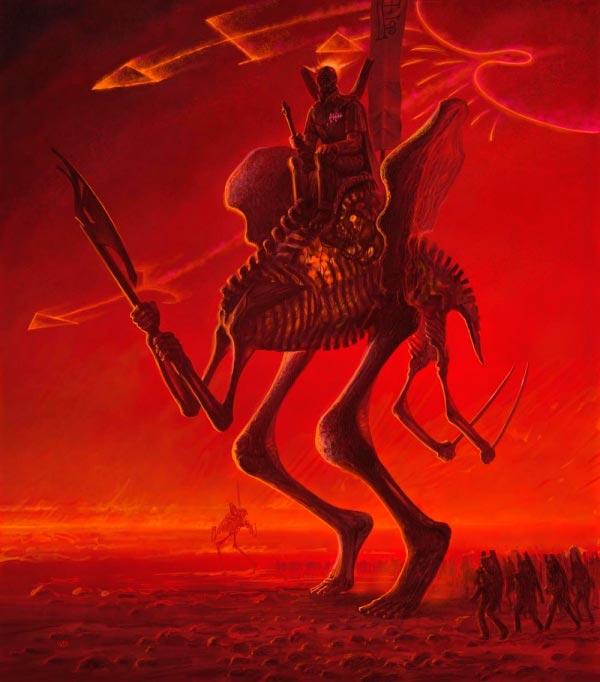 inferno 0 surrealismo arte fantasia wayne barlowe 0 Figura do Slideshow #11