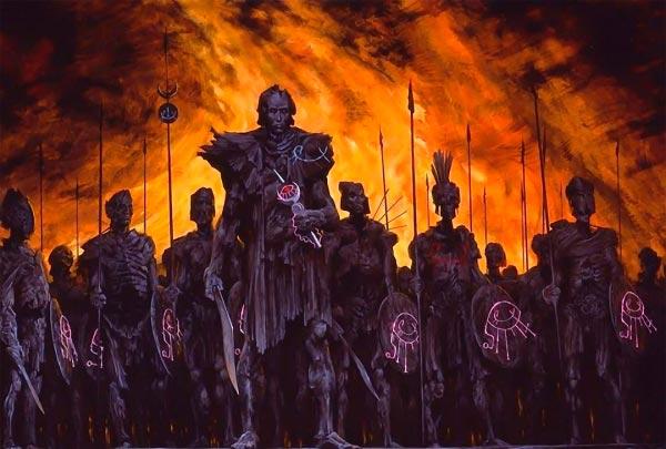 inferno 0 surrealismo arte fantasia wayne barlowe 0 Figura do Slideshow #4