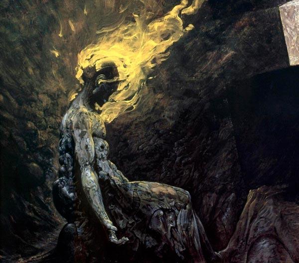 inferno 0 surrealismo arte fantasia wayne barlowe 0 Figura do Slideshow #8