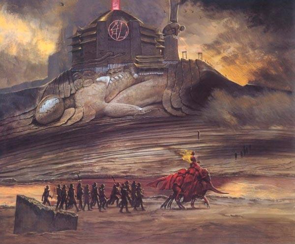 inferno 0 surrealismo arte fantasia wayne barlowe 0 Figura do Slideshow #6