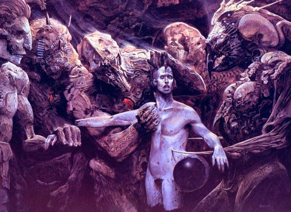 inferno 00 surrealismo arte fantasia wayne barlowe 1 Figura do Slideshow #7