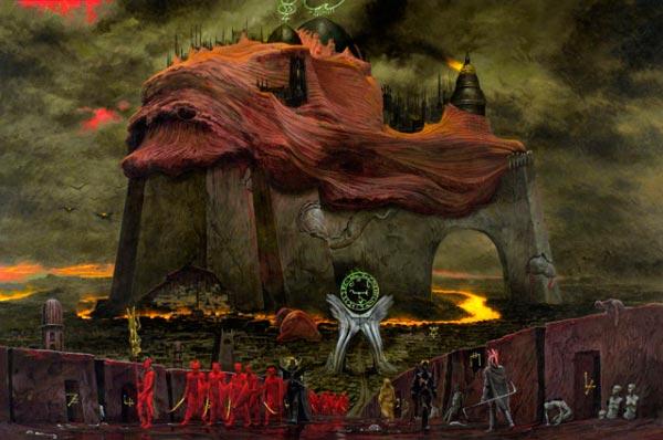 wayne barlowe inferno surrealismo arte fantasia Figura do Slideshow #42