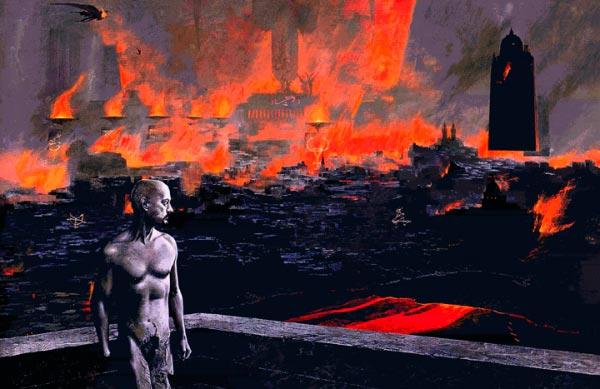 wayne barlowe inferno surrealismo arte fantasia Figura do Slideshow #40