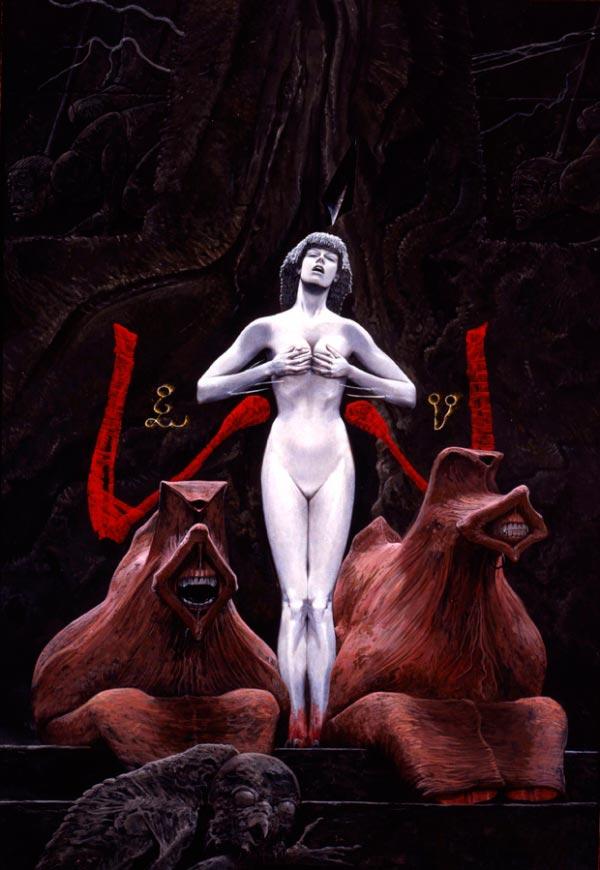 wayne barlowe inferno surrealismo arte fantasia Figura do Slideshow #44