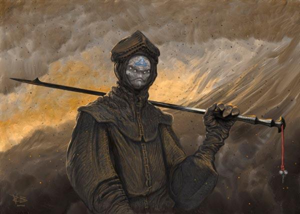 wayne barlowe inferno surrealismo arte fantasia Figura do Slideshow #43
