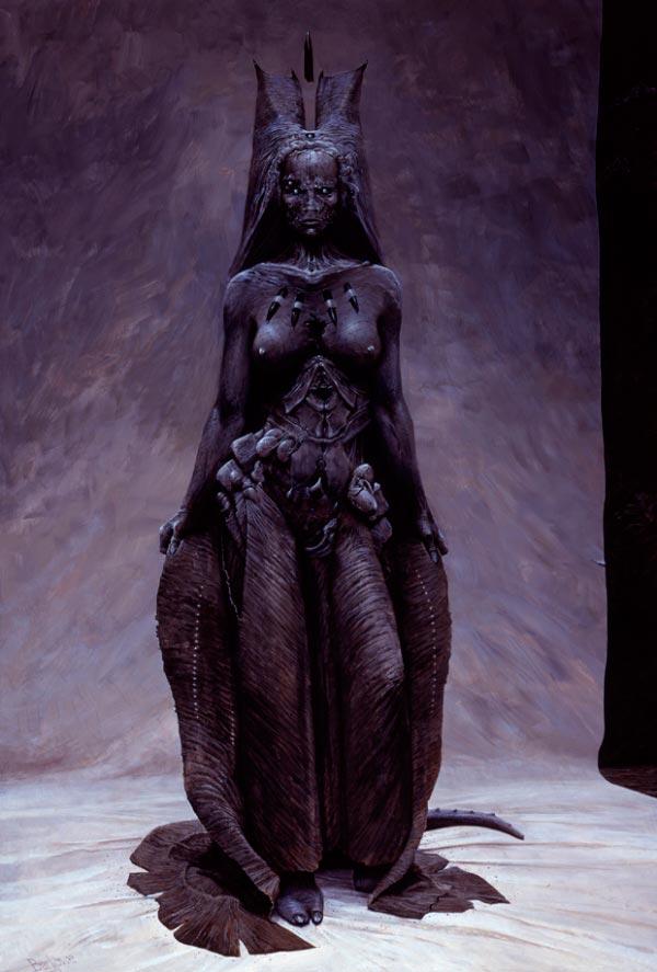 wayne barlowe inferno surrealismo arte fantasia Figura do Slideshow #37