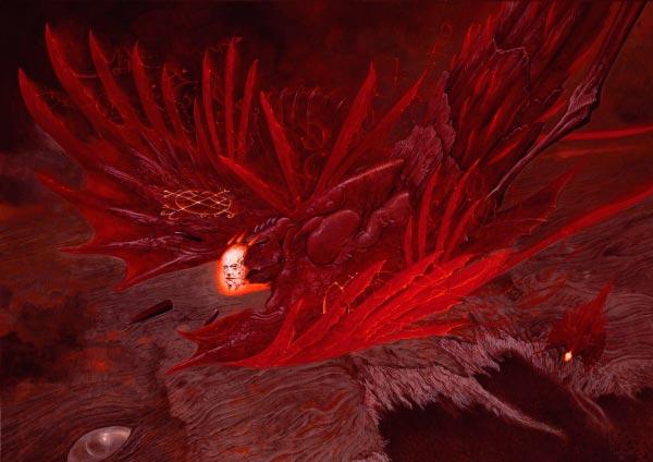 wayne barlowe inferno surrealismo arte fantasia Figura do Slideshow #38