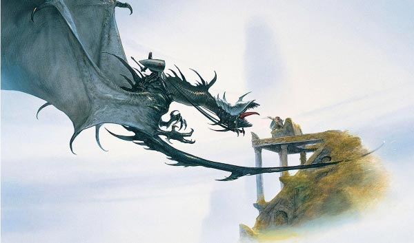 nazgul por john howe lord of the rings senhor dos aneis Figura do Slideshow #25