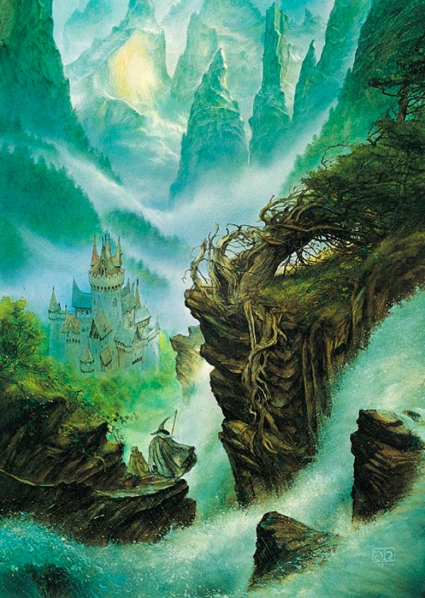 valfenda por john howe rivendel lord of the rings senhor dos aneis Figura do Slideshow #22