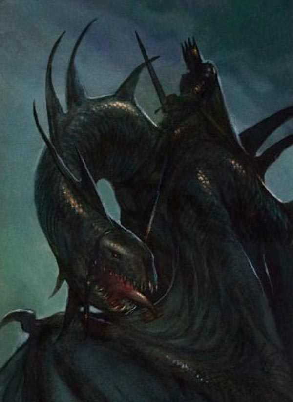 witch king nazgul lord of the rings senhor dos aneis john howe Figura do Slideshow #21