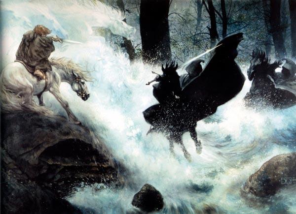 cavaleiros negros por john howe o senhor dos aneis silmarillion Figura do Slideshow #15