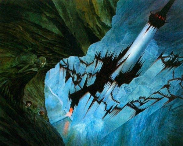 minas morgul por john howe o senhor dos aneis silmarillion Figura do Slideshow #10