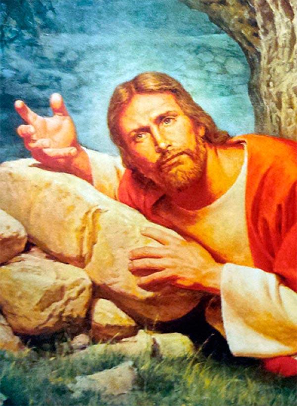 jesus confuso Figura do Slideshow #1