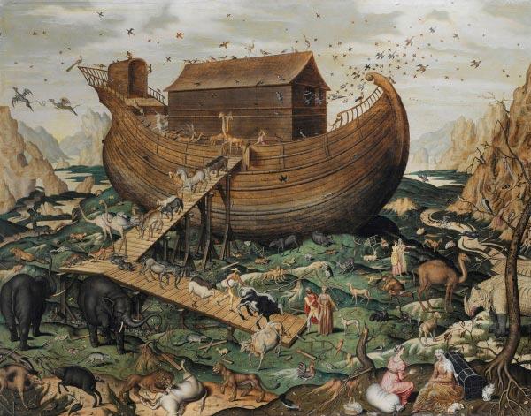 arca de noe e diluvio por newton whiston Figura do Slideshow #3