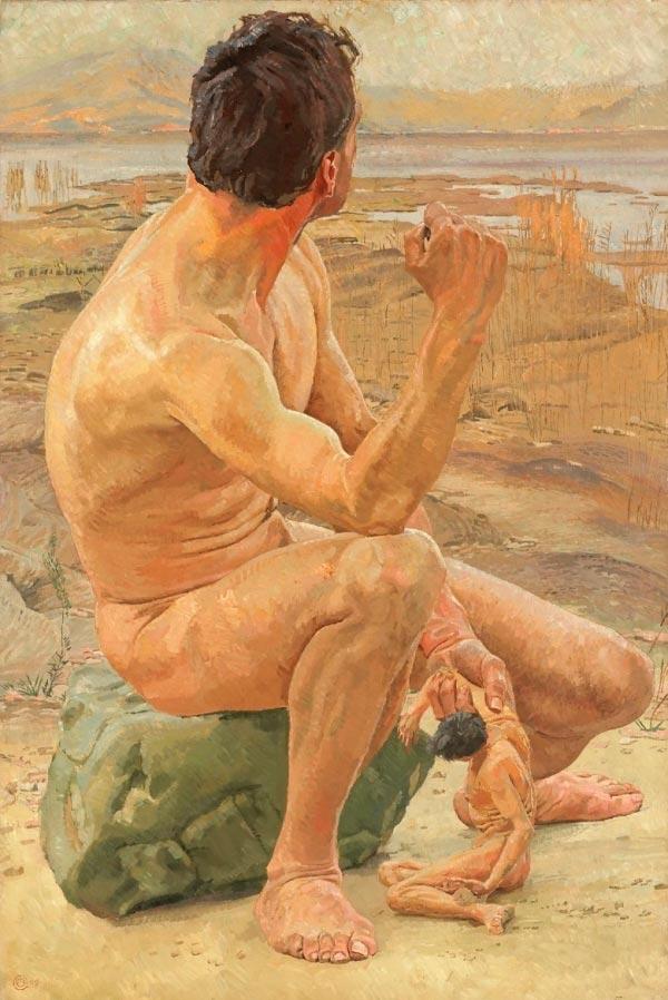 prometeu confeccionado o ser humano por otto greiner 1909 mito grego mitologia Figura do Slideshow #2