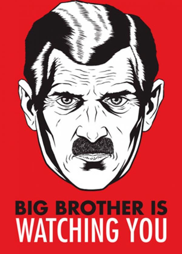 1984 big brother orwell Figura do Slideshow #10