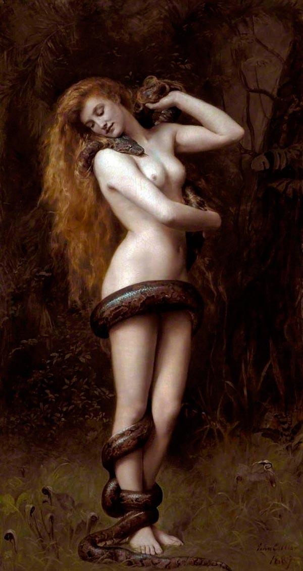 lilith john collier painting Figura do Slideshow #1