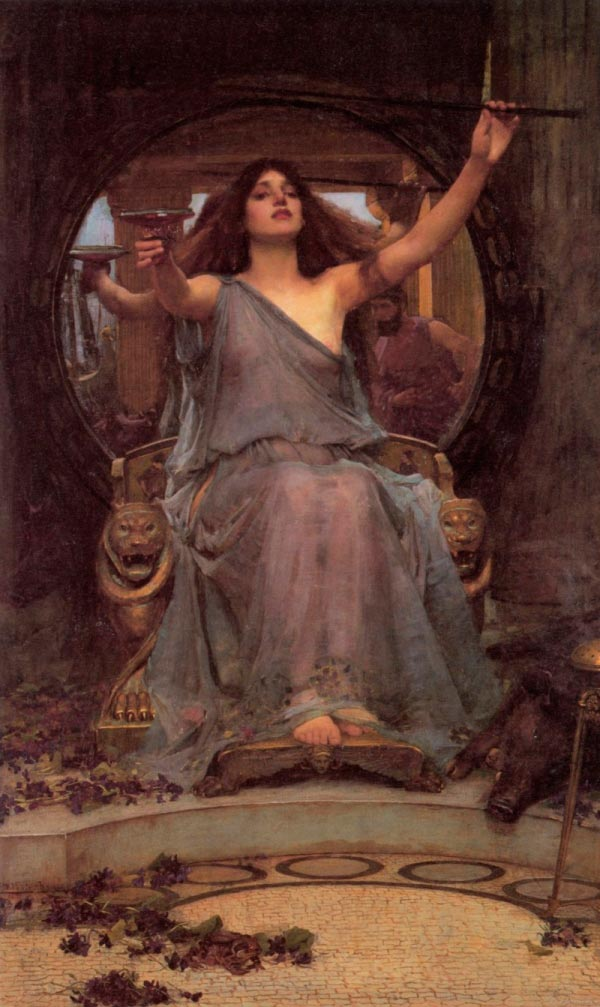 circe offering the cup to ulysses by john william waterhouse Figura do Slideshow #2