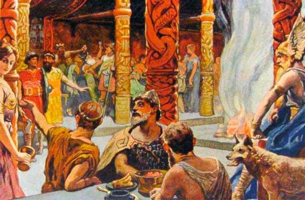 emil doepler valhalla na mitologia nordica Figura do Slideshow #11